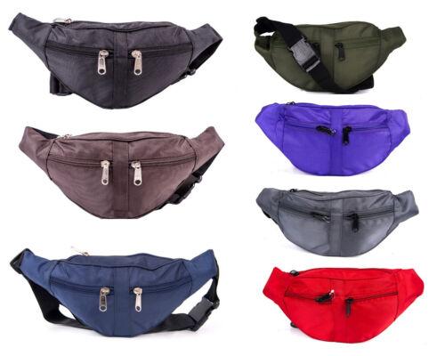 Flightec Multi-compartment Various Colours Bum Bag Pouch for Festival Travel