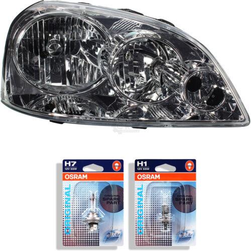 Scheinwerfer rechts Daewoo Chevrolet Nubira Bj Lampen 1346365 03-10 H1+H7 inkl