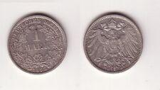 1 Mark Silber Münze Deutschland Kaiserreich 1892 D Jäger Nr.17 (115964)