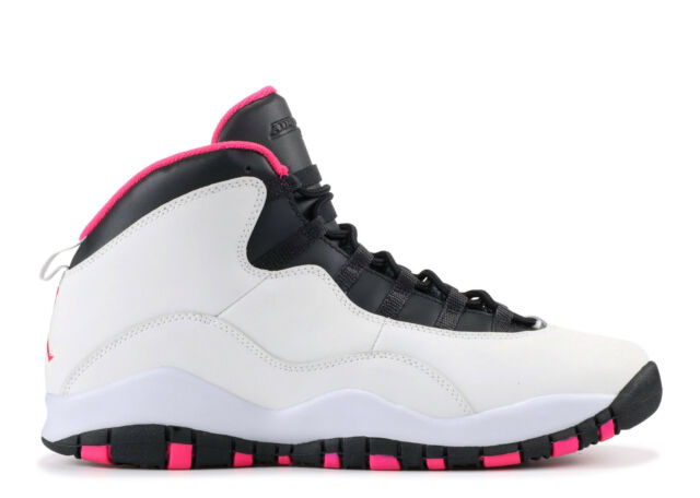 b5da0a4b3cdf22 Nike Air Jordan X 10 Retro Girls GS GG Pure Platinum Vivid Pink ...