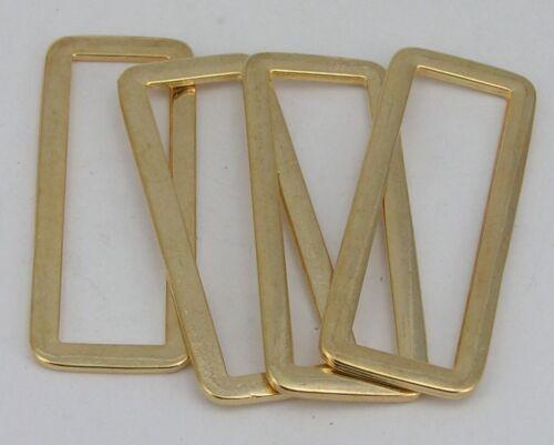 07.09m 52x20mm Schlaufen 44mm gold 8 Rechteckringe
