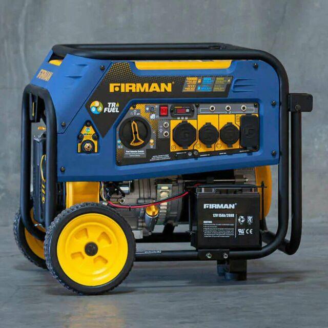 Firman 7500w Running 9400w Peak Duel Fuel Generator Gas Lpg For Sale Online Ebay