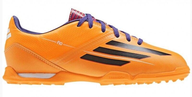 Adidas F10 TRX TF Jr Kinder Fußballschuhe für Asche- Kunstrasenplätze orange Neu