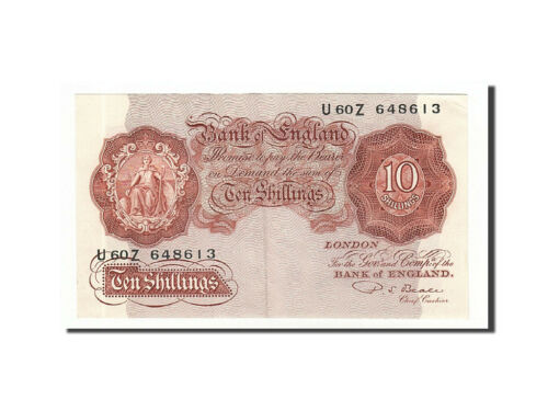 #160493 Great Britain, 10 Shillings, 1948, KM368b, Undated 19491955