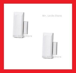 Brand New 2GIG 2GIG-DW10-345 Wireless Thin Door Window Sensors Lot of 5