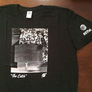 fde461ff San Francisco SF Giants Willie Mays The Catch T-Shirt TShirt Shirt ...
