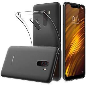 Transparent-Cover-fuer-Xiaomi-Pocophone-F1-Handy-Huelle-Silikon-Case-Schutz-Tasche
