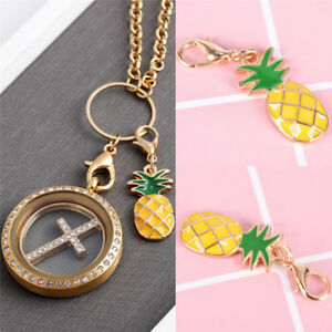 1PC-Pineapple-Fruit-Enamel-Charms-Alloy-Clasp-Pendant-Key-Ring-DIY-Jewelry-M-amp-O