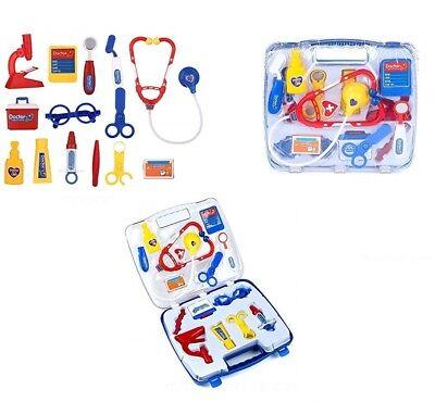 14pc Bambini Doctor Set Pretend Play Medico Infermiera Ruolo Giocattoli Con