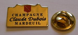 CHAMPAGNE-CLAUDE-DUBOIS-MARDEUIL-French-Wine-vintage-pin-badge