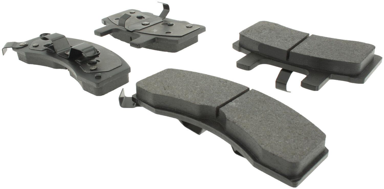 Disc Brake Pad Set-Premium Ceramic Pads with Shims and Hardware Front,Rear