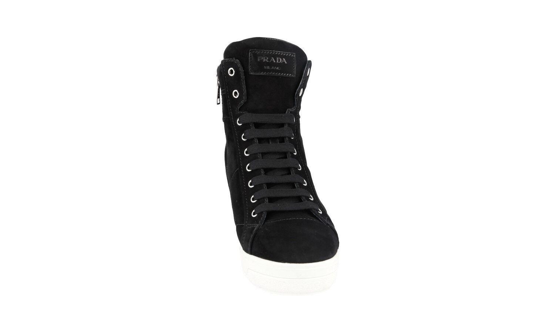 BOTTINE PRADA LUXUEUX 3TZ050 black NOUVEAUX 40,5 40,5 40,5 41 UK 7.5 ed8cf2