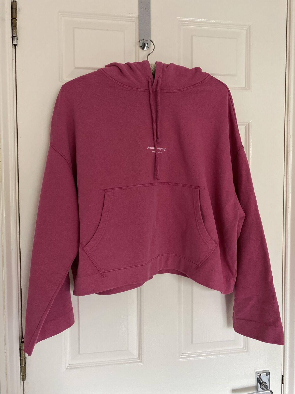 Acne Studios Women Hoodie Pink Size XS