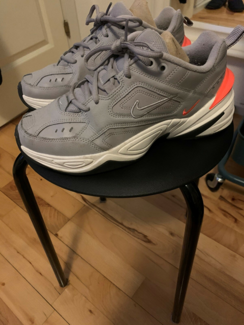 Sneakers, str. 38,5, Nike W  M2K Tekno,  Grå/orange,…