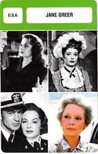 FICHE CINEMA :  JANE GREER -  USA (Biographie/Filmographie)