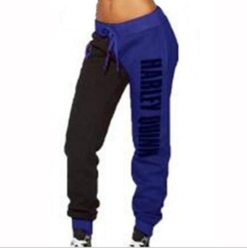 Petites  Sport Pant Squad Harley Quinn Printed Pant S-XL Loose Bandage Pant  891