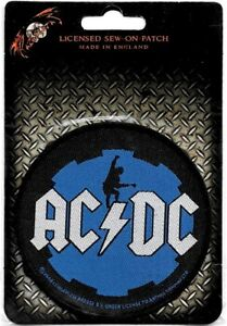 Official-Licensed-Merch-Woven-Sew-on-PATCH-Heavy-Metal-Rock-AC-DC-Angus-Cog