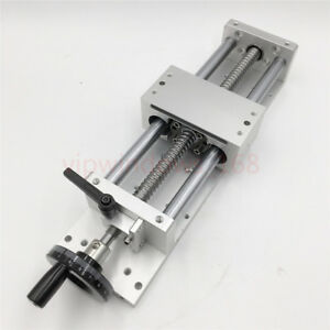 300mm Linear Rail Slider SFU1605 Ballscrew Cross Module XYZ Axis Milling Table