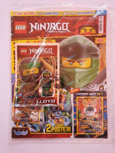 Edición Limitada mapa nº 7 OVP Lego ® Ninjago Magazine nº 49 Limited Edition Lloyd