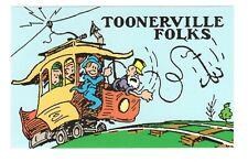 Toonerville Folks  Comics    Vintage 1995   Postcard