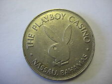THE PLAYBOY CASINO CLUB NASSAU BAHAMAS 1 DOLLAR SLOT TOKEN GAMING CHIP