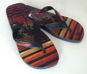 Havaianas-Typ-034-Surf-034-grau-schwarz-Gr-41-42-NEU