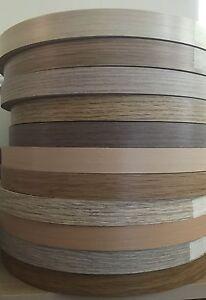 22mm Pre Glued Iron On Edging Melamine Veneer Tape Beech