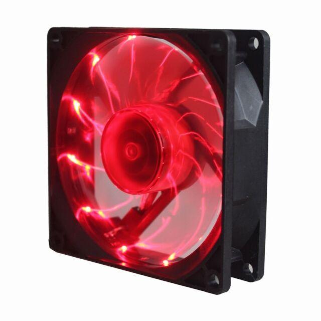 9cm 92mm 92x92x25mm 15 White LED Lights 12V Computer CPU Case Cooling Fan 3pin