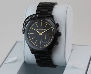 80a1a804012e Image is loading AUTHENTIC-MICHAEL-KORS-SLIM-RUNWAY-ACCESS-HYBRID-SMARTWATCH -