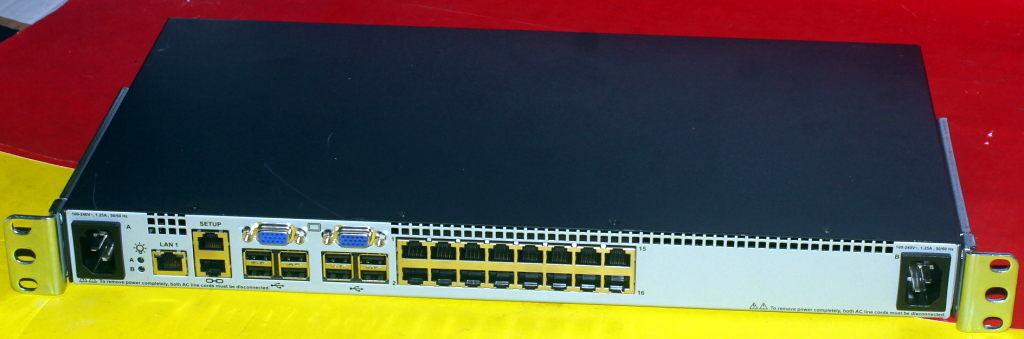 AF618A HP 0x2x16 G2 16-Port IP KVM Console Switch 578713-001 580463-001