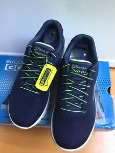 Solar Nordic Walking Shoes Navy/Lime