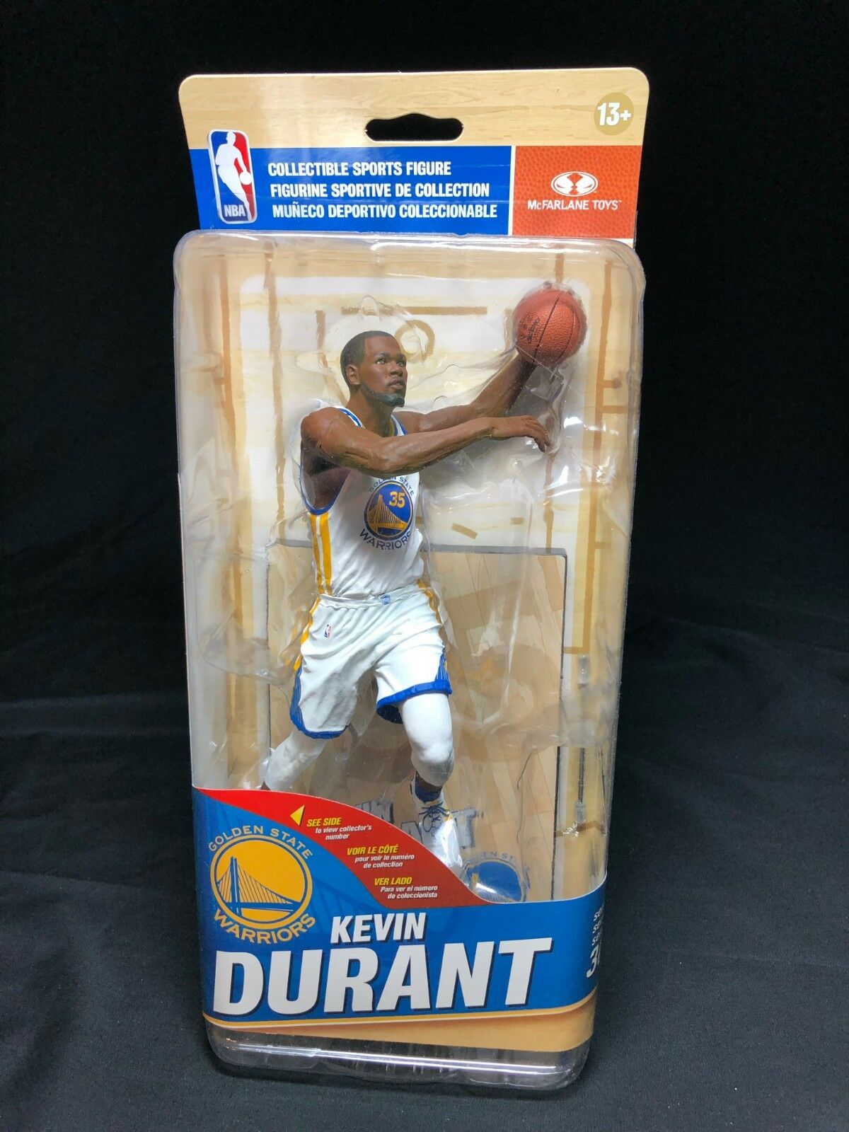 McFarlane NBA 30 Kevin Durant White Jersey Variant 1104 1500 golden State