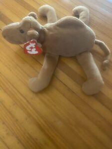 AUTHENTIC-Humphrey-The-Camel-3rd-1st-Gen-Near-Mint-Ty-Beanie-Babies