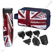 BaByliss for Men 7057GU Groom Britannia Trimmer Gift Set - Christmas Gift
