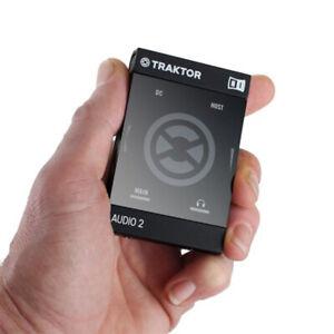 TRAKTOR AUDIO 2 Native INSTRUMENTS  MK2 USB INTERFACCIA AUDIO DJ USATO cavo USB
