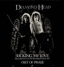 "DIAMOND HEAD Sucking My Love-Live  12"" Ps, Rare Orig 1983 Nwobhm 12 Inch Single,"