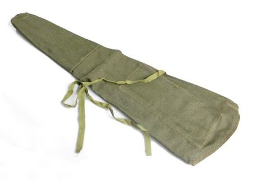 Airsoft Canvas Rifle Cover Green Soviet Army Surplus AKS Kalashnikov Bag Holder