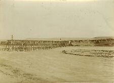 PHOTO ANCIENNE - VINTAGE SNAPSHOT - TAOURIRT PONT DE L'OUED ZA MAROC 1911 1