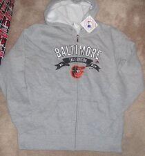 NEW MLB Baltimore Orioles Hoodie Hooded Sweatshirt Women Ladies M Medium NEW NWT