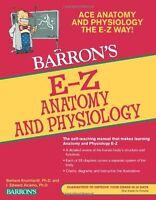 E-z Anatomy And Physiology (barron`s E-z Series) By I. Edward Alcamo Ph.d., (pap on sale