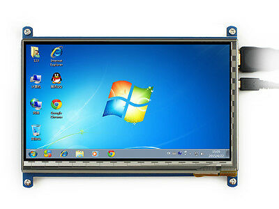 7inch HDMI LCD (B) Rev2.1 800×480 Capacitive Touch LCD Screen Supports Windows