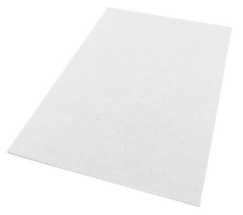 A4 Self Adhesive Square Felt Pads Furniture Floor Scratch Protector Pads