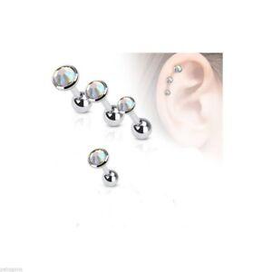 1 Piercing de tragus-cartilage 4 mm en acier chirurgical 316L et verre sur Jv41fxYN-08052714-373513485
