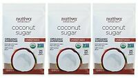 Nutiva Organic Coconut Sugar, Unrefined, 1 Pound (pack Of 3) on sale