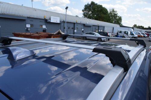 KIA Sportage 2010-2016 Antirrobo De Aluminio Barra Transversal Rack 75 kg carga