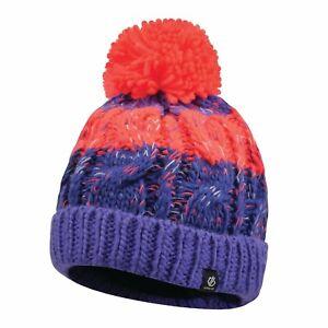 Kinder-Warm-Winter-Wollig-Schule-Zelten-Ski-Trips-Pudelmuetze-Simply-Lila-Lively