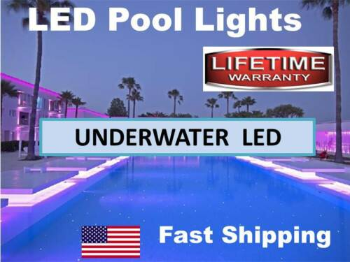 Pond or Swimming Pool Lights - --- 300 Underwater L.E.D LED SUBMERSIBLE ip68