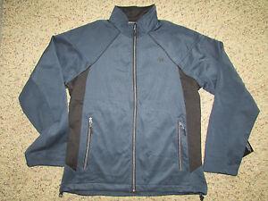 New New Balance Navy Black Running Jacket Mens S Full Zip Free Ship