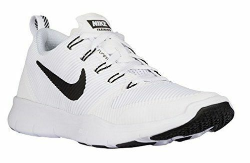 Nike Men Free Train Versatility Running Sneaker 833257 100 White Black 10 - 12.5
