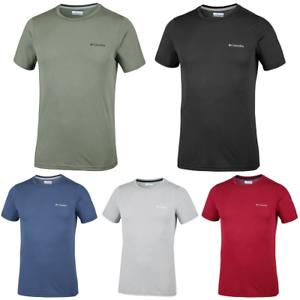 Avoir Un Esprit De Recherche Columbia Nostromo Ridge Running Training T-shirt à Manches Courtes T-shirt Homme Toutes Tailles-afficher Le Titre D'origine